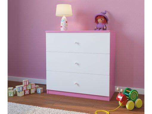 Otroški predalnik BabyDreams - Rožnat