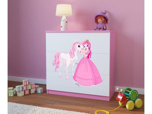 Otroški predalnik Princess with a Pony