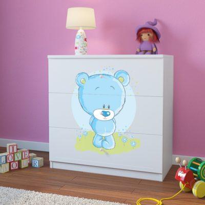 Otroški predalnik Blue Bear - Bel