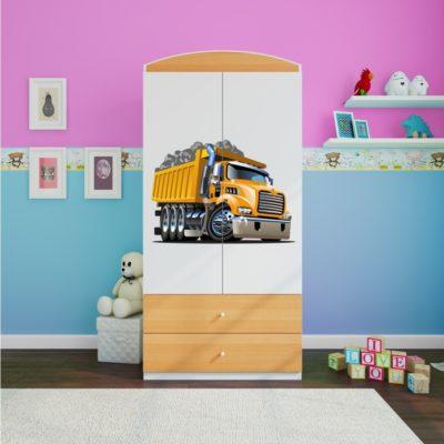 Otroška garderobna omara Truck