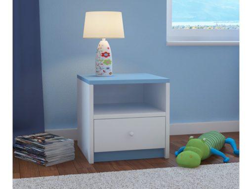 Nočna omarica BabyDreams - Modra