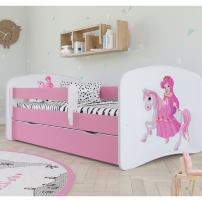 Otroška postelja Princess Riding a Pony